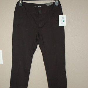 NWT Maurices Smart Skinny Black Pants Leggings